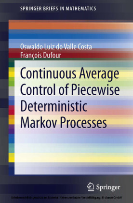 Continuous Average Control of Piecewise Deterministic Markov Processes