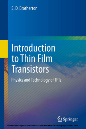 Introduction to Thin Film Transistors