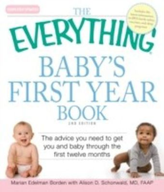 Everything Baby's First Year Book