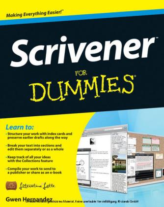 Scrivener For Dummies