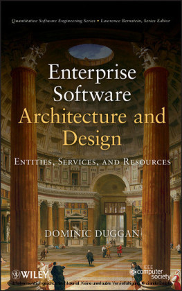 Enterprise Software Architecture and Design