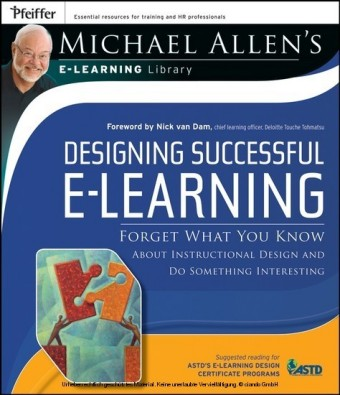 Designing Successful e-Learning, Michael Allen's Online Learning Library