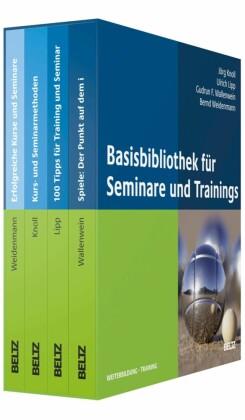 Basis-Bibliothek für Seminare und Trainings