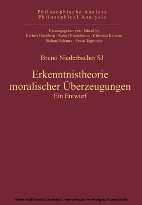Erkenntnistheorie moralischer Überzeugungen