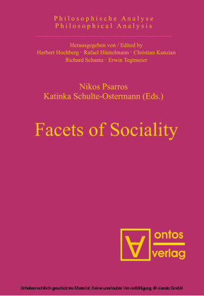 Facets of Sociality