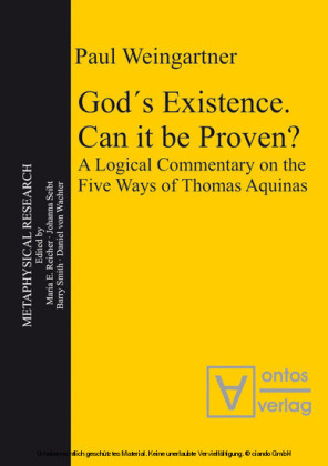 God's Existence. Can it be Proven?