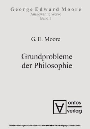 Grundprobleme der Philosophie