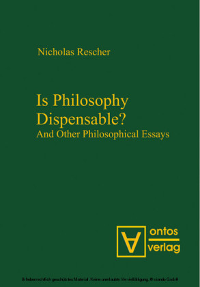 Is Philosophy Dispensable?