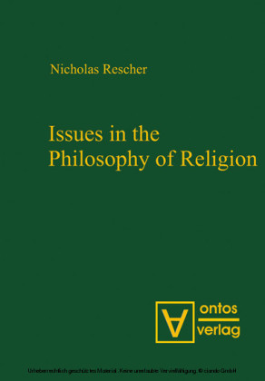 Issues in the Philosophy of Religion
