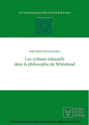 Les rythmes éducatifs dans la philosophie de Whitehead