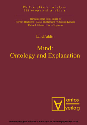 Mind: Ontology and Explanation