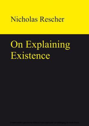 On Explaining Existence