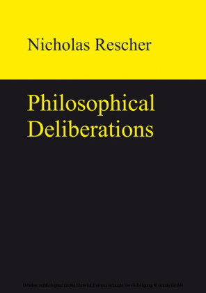 Philosophical Deliberations