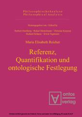 Referenz, Quantifikation und ontologische Festlegung