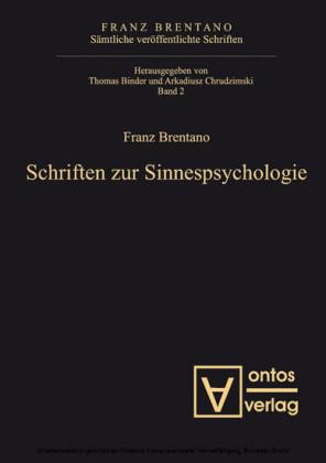 Schriften zur Sinnespsychologie