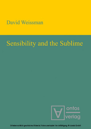 Sensibility and the Sublime