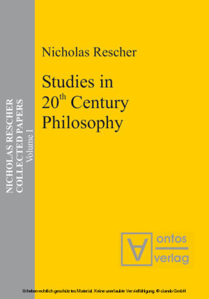 Studies in 20th Century Philosophy