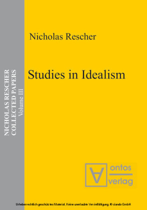 Studies in Idealism