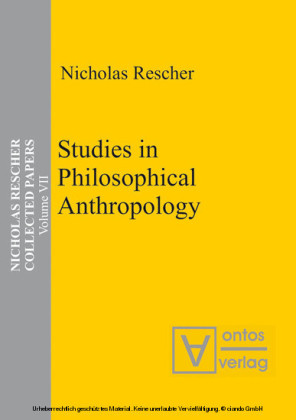 Studies in Philosophical Anthropology