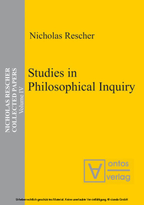 Studies in Philosophical Inquiry