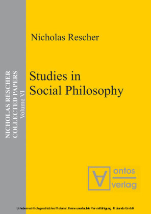 Studies in Social Philosophy