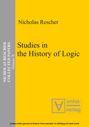 Studies in the History of Logic