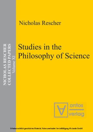 Studies in the Philosophy of Science