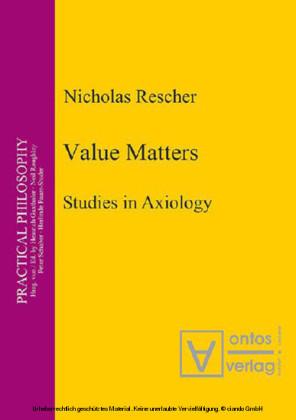 Value Matters