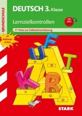 Deutsch 3. Klasse, Lernzielkontrollen mit MP3-CD Cover