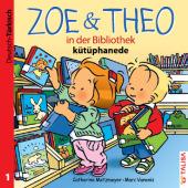Zoe & Theo in der Bibliothek, Deutsch-Türkisch;Zoe & Theo kütüphanede Cover