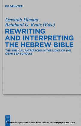 Rewriting and Interpreting the Hebrew Bible