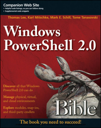 Windows PowerShell 2.0 Bible