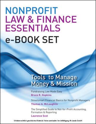 Nonprofit Law & Finance Essentials e-book set
