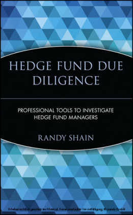 Hedge Fund Due Diligence