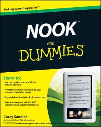 NOOK For Dummies