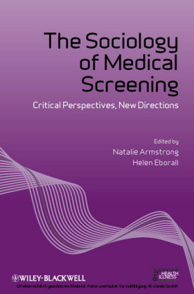 The Sociology of Medical Screening