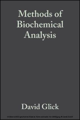 Methods of Biochemical Analysis
