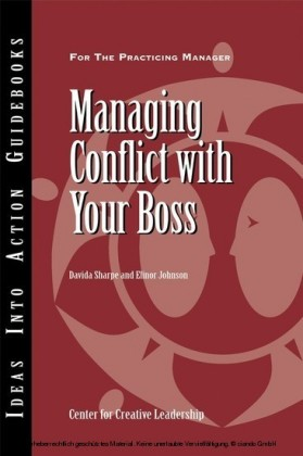 Managing Conflict with Your Boss