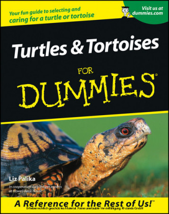 Turtles and Tortoises For Dummies,