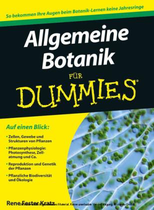 Allgemeine Botanik für Dummies