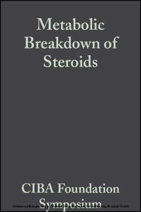 Metabolic Breakdown of Steroids