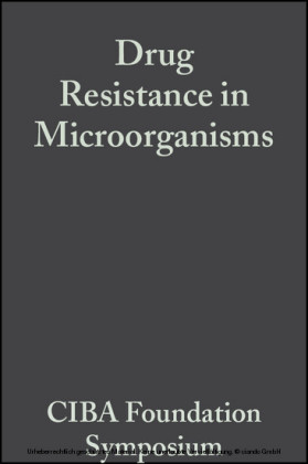 Drug Resistance in Microorganisms