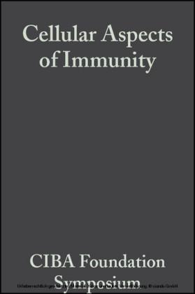 Cellular Aspects of Immunity