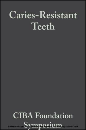 Caries-Resistant Teeth