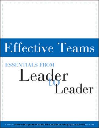 Effective Teams,