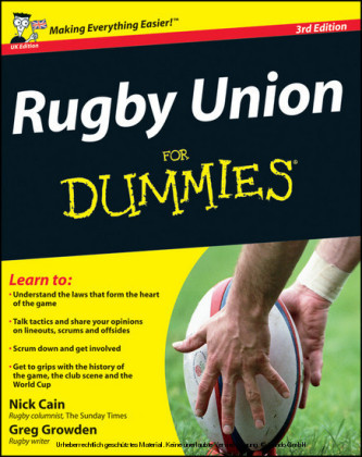 Rugby Union For Dummies,