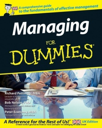 Managing For Dummies,