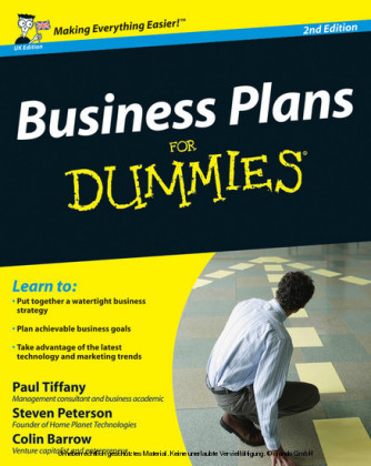 Business Plans For Dummies,