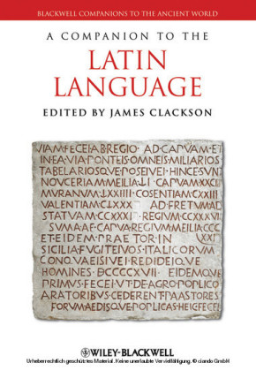 A Companion to the Latin Language