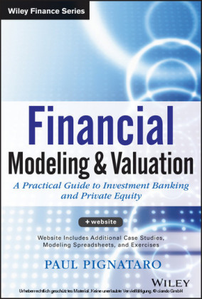 Financial Modeling and Valuation,